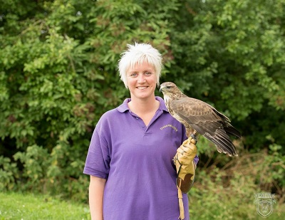 Women in business - Coda Falconry
