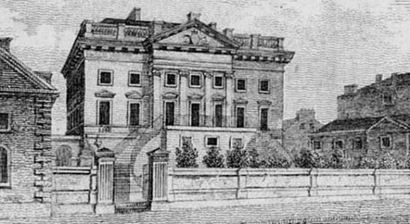 RBS Glasgow branch in early 19th century
