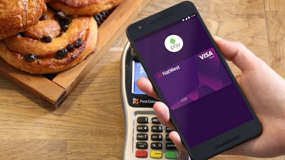 NatWest mobile app Android contactless payment