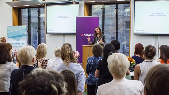NatWest Parliamentary event speaker and audience