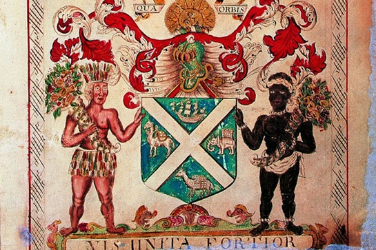 Coat of Arms of the Company of Scotland Trading to Africa