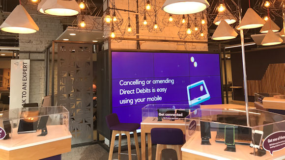 The inside of NatWest's digital focused branch in Liverpool