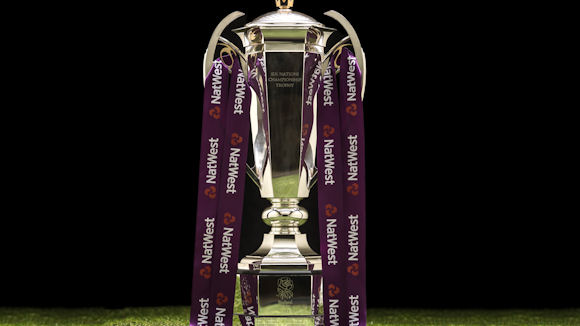 the NatWest 6 Nations trophy