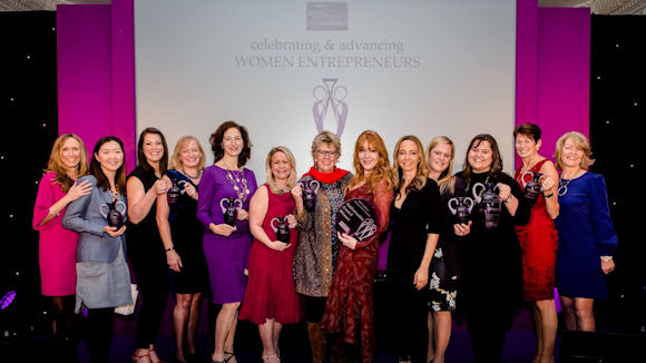Winners of the 2017 NatWest everywoman Awards