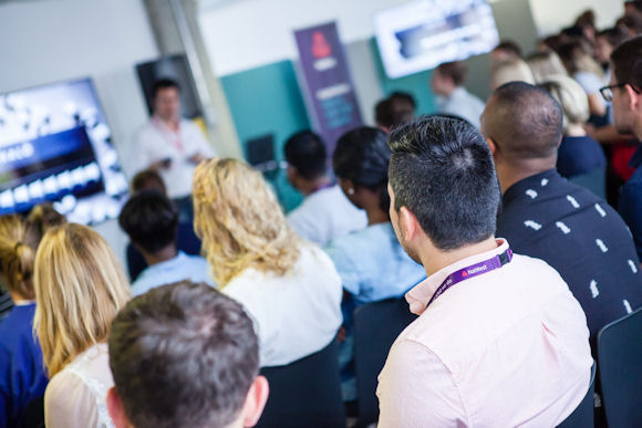 group of entrepreneurs at a natwest hub