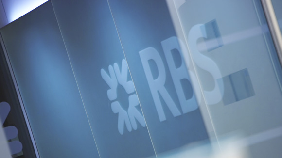 RBS blue window