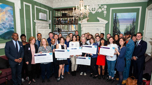 winners of a past round of the RBS Skills & Opportunities Fund
