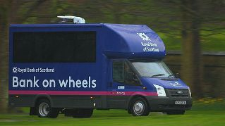 RBS Bank on wheels