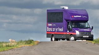 Natwest Mobile Bank in Wales