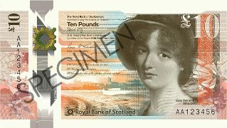 Details about  /ROYAL BANK OF SCOTLAND £ 10 Pounds ZZ Replacement Polymer NEW Design UNC 2017