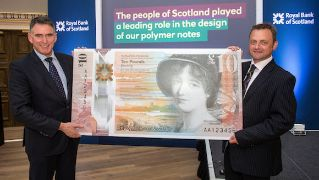 ROYAL BANK SCOTLAND POLYMER £10-LW